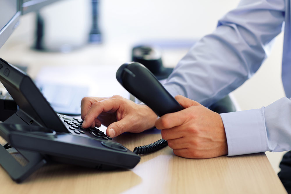 Unternehmensberatung Telefonat