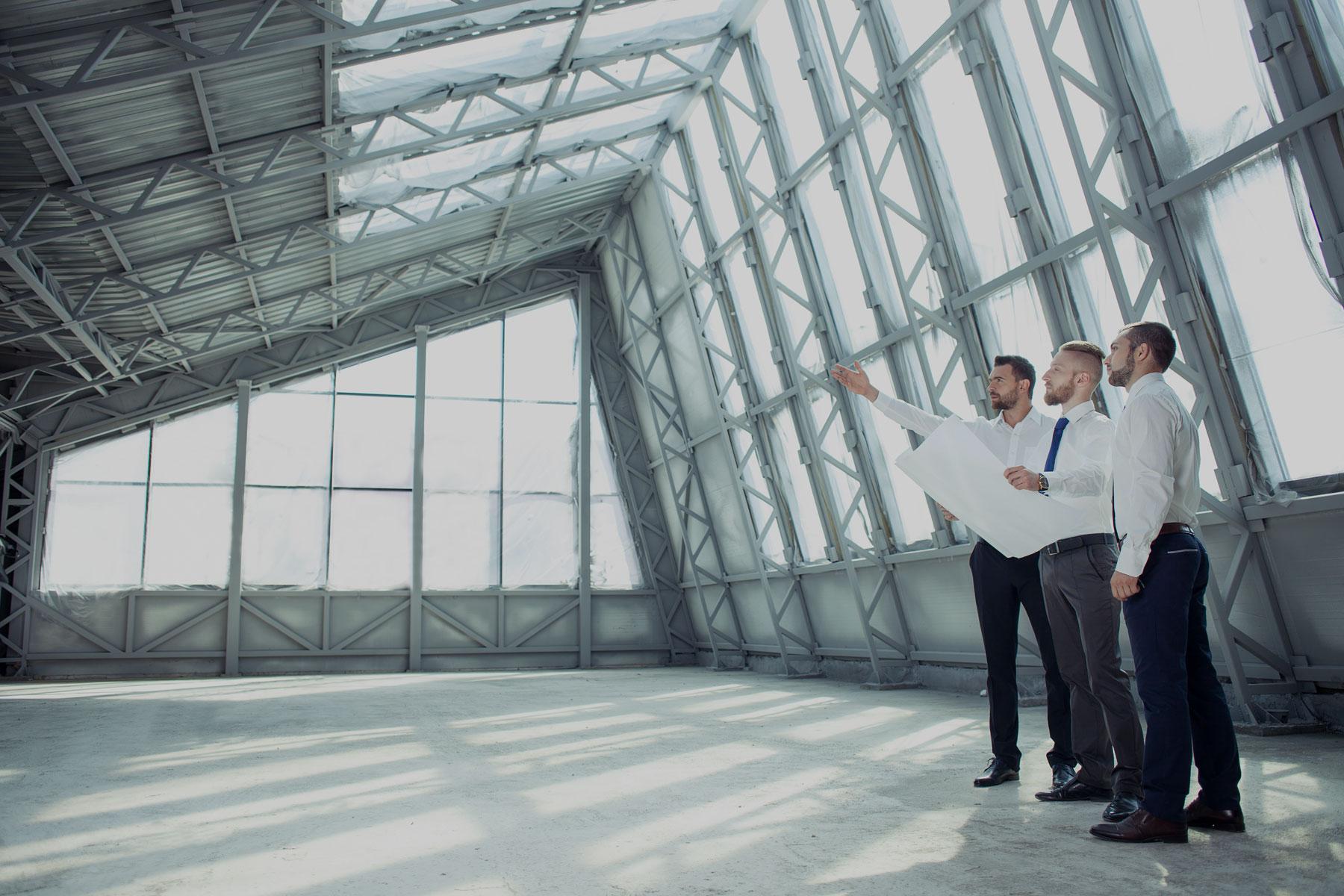 unternehmensaufbau architekten